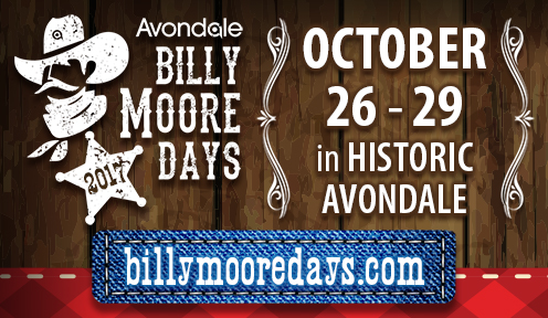 2017 Billy Moore Days Event Oct. 26-29