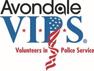 Avondale PD VIPS logo