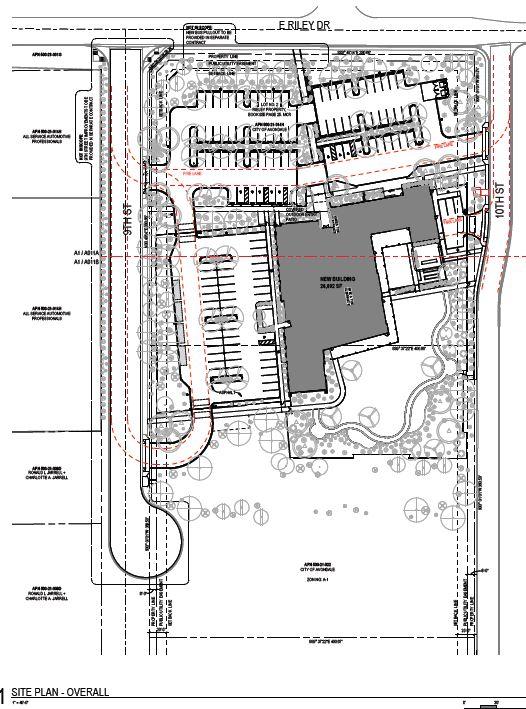Resource Center Design Development Rendering Siteplan