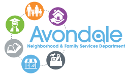 Avondale Neighborhood and Family Services Department logo