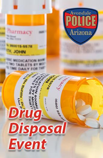 Pill Bottle, Drug Disposal Event