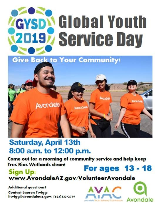 Flier for Youth Services Day