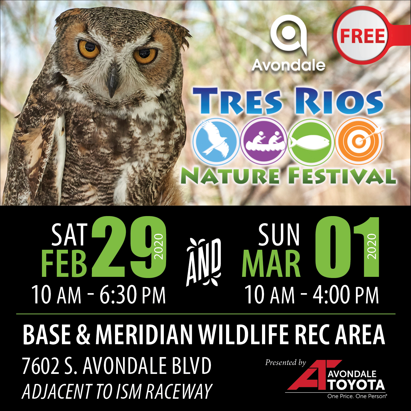 2020 Tres Rios Nature Festival takes place Feb 29-Mar 1