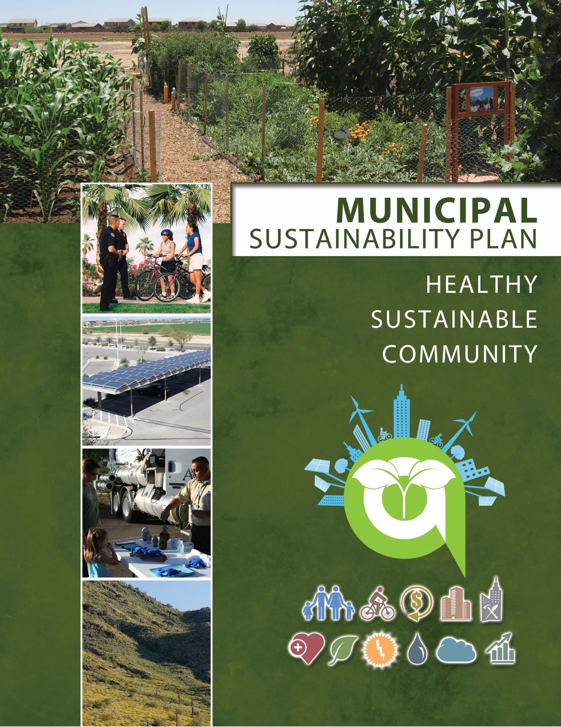 Municipal Sustainability Plan cover page