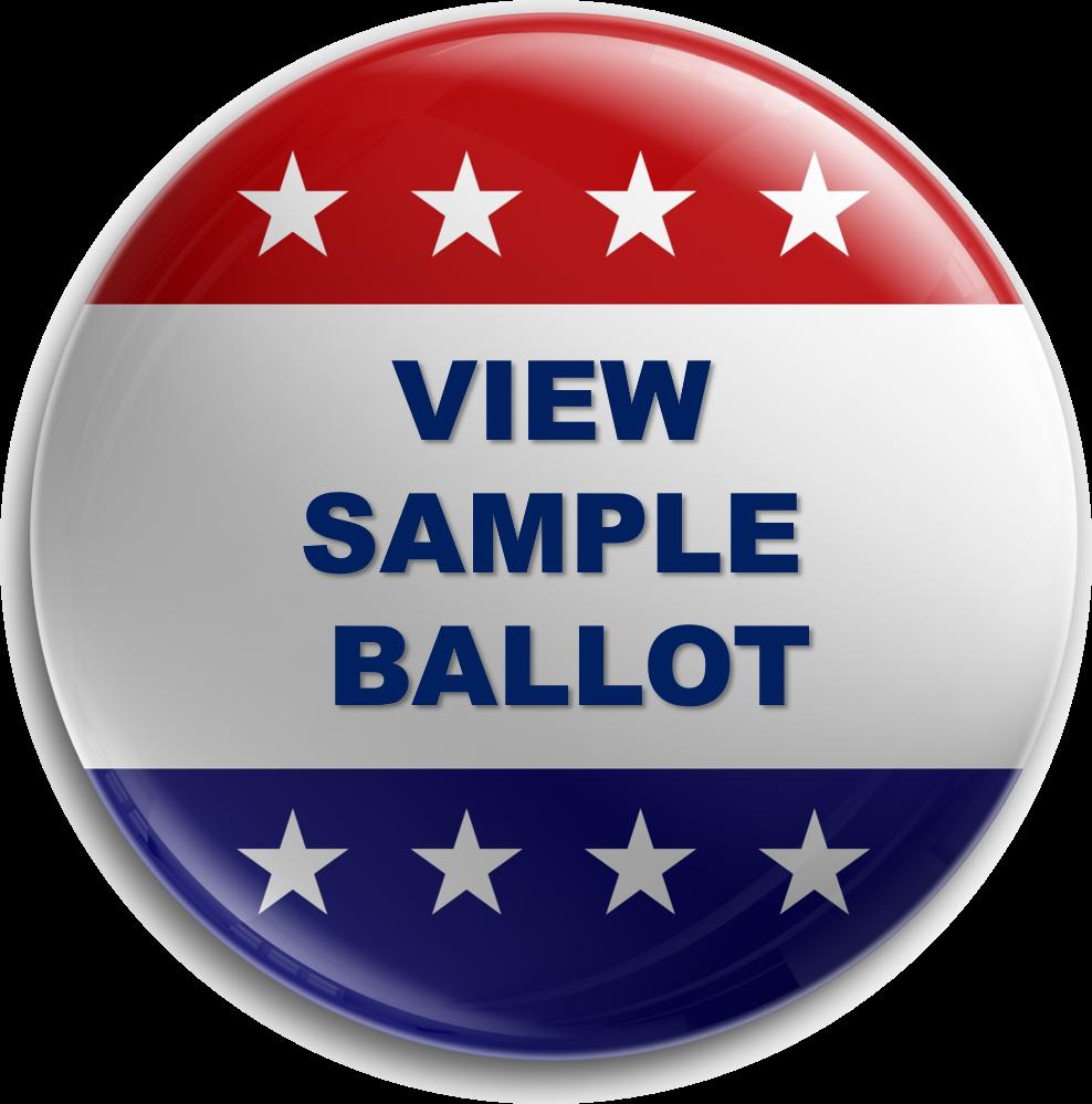 "vote button icon ""View Sample Ballot"""